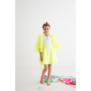 Tinker Bell Neon Yellow Cape