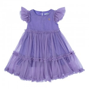 Sofia Purple Tulle Dress