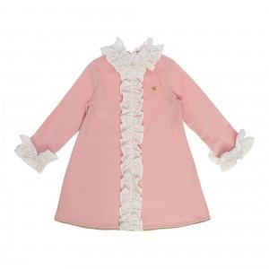Valentina Pink Velvet Dress