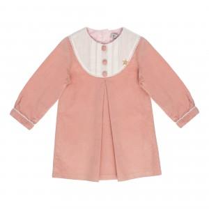 Julia Pink Velvet Dress