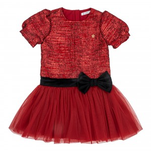Linda S Burgundy Dress