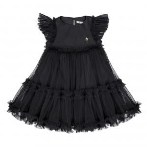 Sofia Black Tulle Dress