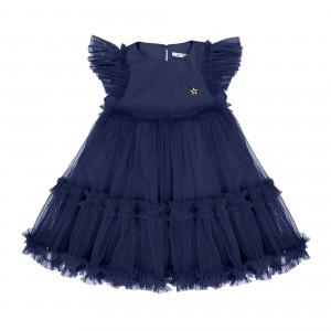 Sofia Navy Tulle Dress