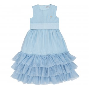 Arina Blue Dress