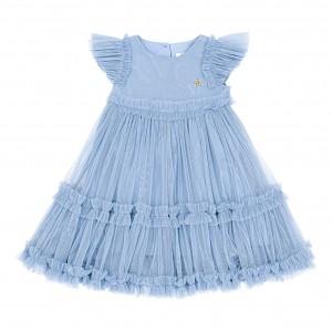 Sofia Blue Tulle Dress