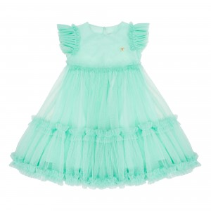 Sofia Mint Tulle Dress