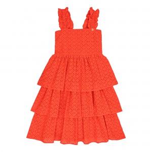 Zendaya Orange Dress