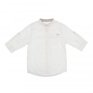 Oliver White Linen Shirt
