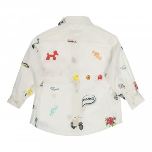 Silvio White Shirt