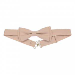 Arthur Beige Tie Bow