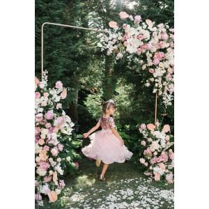 Grace Pink Long Tulle Dress