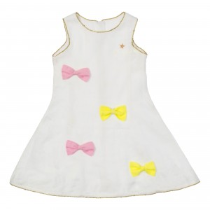 Patrice White Linen Dress