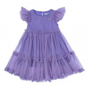 Sofia Purple Tulle Dress