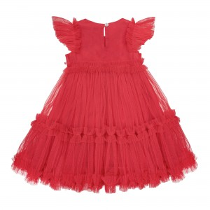 Sofia Red Tulle Dress