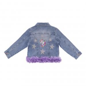 Pony Denim Jacket