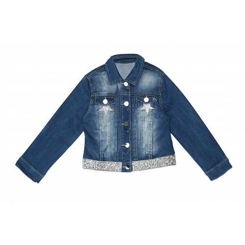 Silver Denim Jacket