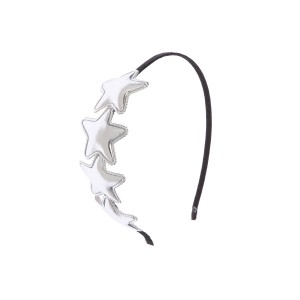 Poulter Silver Hairband