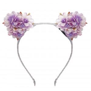 Mayow Purple Hairband