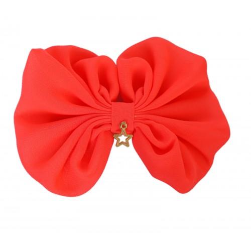 Lipa Neon Orange Bow