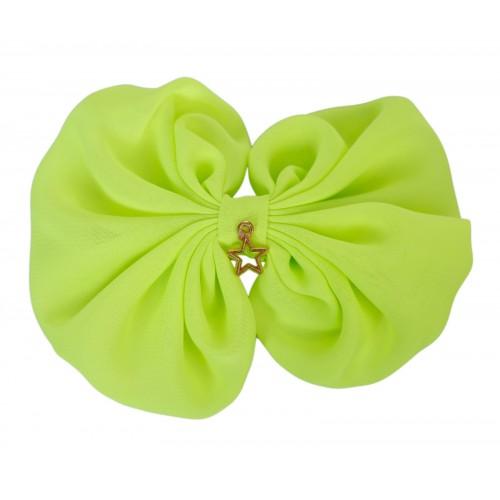 Lipa Neon Yellow Bow