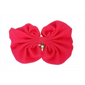Lipa Pink Neon Bow