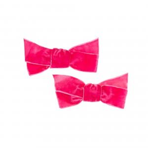 Sarah Dark Pink Hair Clips