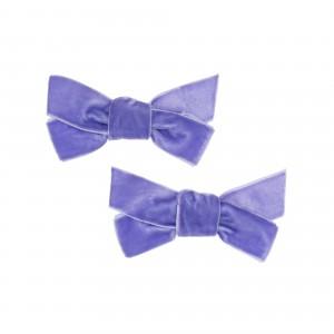 Sarah Purple Hair Clips