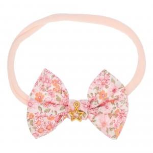 Lisa Pink Elastic Hairbands