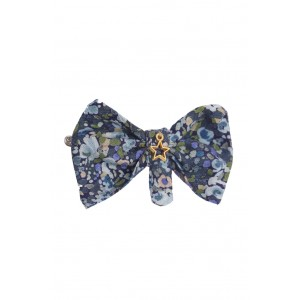 Alice Navy Hair Clips