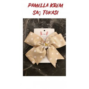 Pamela Beige Hair Accessories