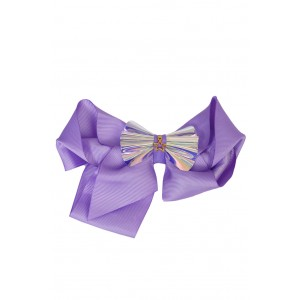 Yoland Purple Big Bow