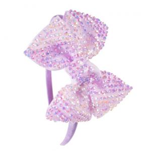 Clara Purple Hairbands