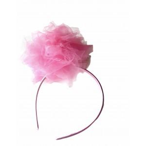Pompom Pink Hairband