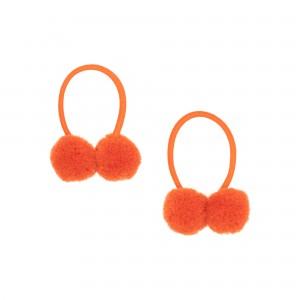 Madelyn Orange Hair Tie