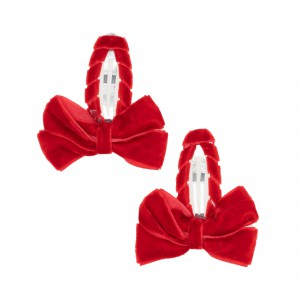 Louise Red Hair Clips