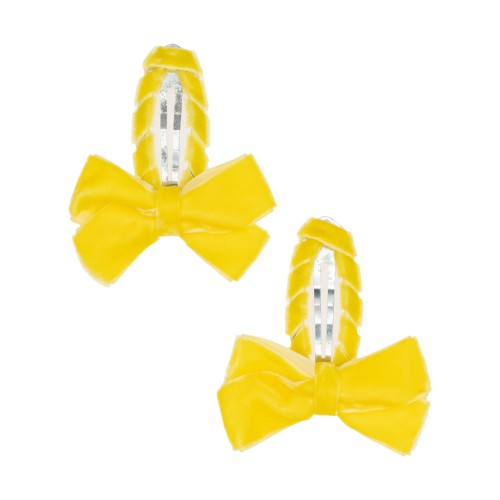 Louise Yellow Hair Clips