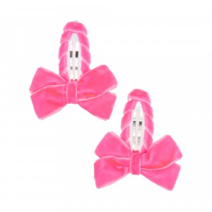Louise Pink Hair Clips
