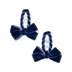 Louise Navy Hair Clips