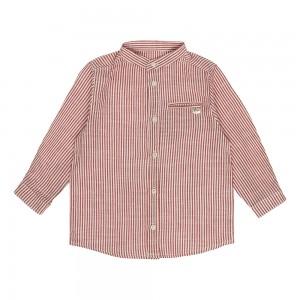 Archie Burgundy Shirt