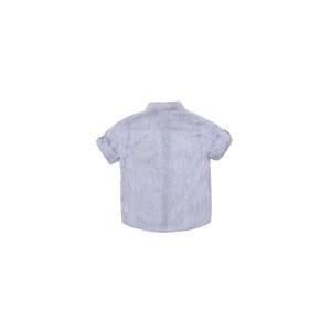 Kenton Blue Linen Shirt