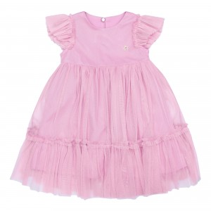 Sofia Pink Tulle Dress